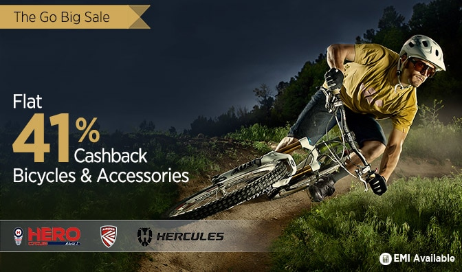 Flat 4000 Cash back on Hero Bikes @ Paytm – Car & Bike Accessories
