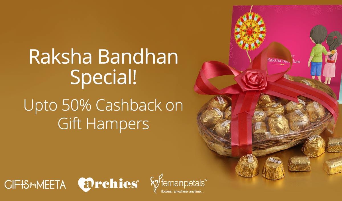 Raksha Bandhan Special  : Get  Upto 60% Cashback Dry Fruit (Max. Rs.2500) @ Paytm – Food, Entertainment and Services