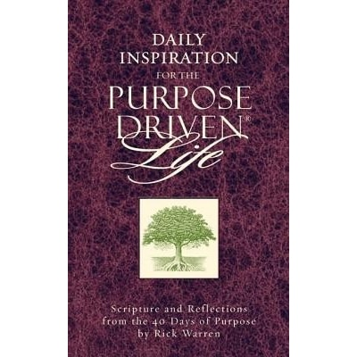 Daily Inspiration for the Purpose Driven Life: Scriptures and Reflections from the 40 Days of Purpose price comparison at Flipkart, Amazon, Crossword, Uread, Bookadda, Landmark, Homeshop18