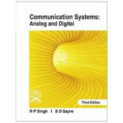 Communication Systems: Analog And Digital available at Paytm for Rs.440