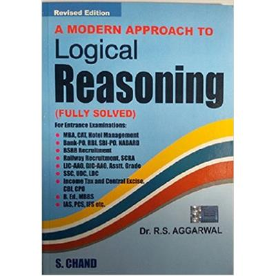 A Modern Approach To Logical Reasoning 1st Edition price comparison at Flipkart, Amazon, Crossword, Uread, Bookadda, Landmark, Homeshop18