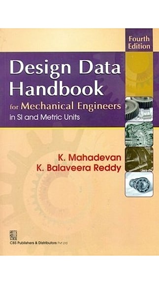 Buy Design Data Handbook For Mechanical Engineers In Si And Metric Units 4ed Online At Low