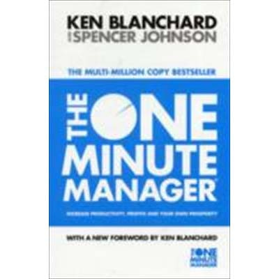 The One Minute Manager: Increase Productivity, Profits and Your Own Prosperity price comparison at Flipkart, Amazon, Crossword, Uread, Bookadda, Landmark, Homeshop18