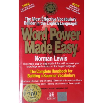 Word Power Made Easy New Revised & Expanded Edition New Revised & Expanded  Edition price comparison at Flipkart, Amazon, Crossword, Uread, Bookadda, Landmark, Homeshop18
