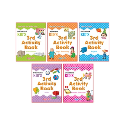 Kid's Activity Age 5+ - Pack (5 Titles)