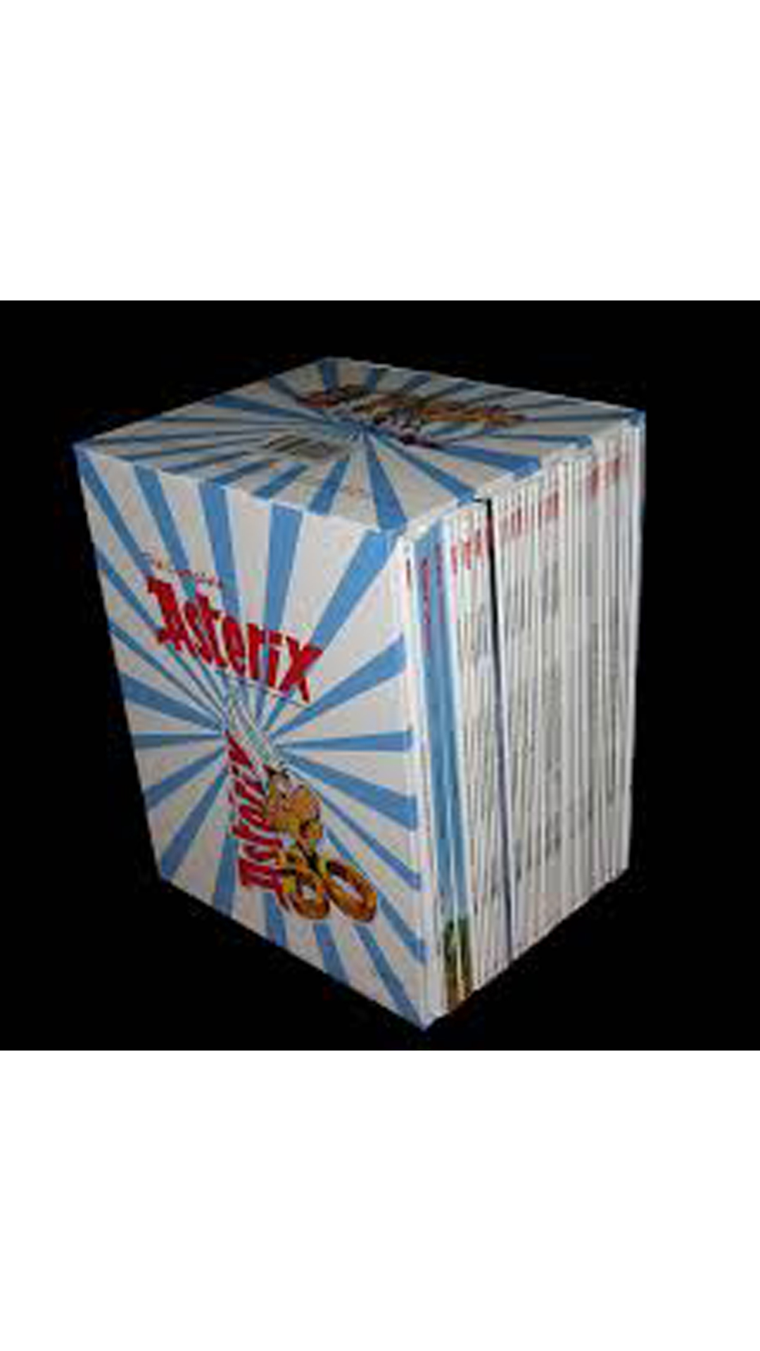 asterix complete collection box set of 34 titles available at paytm for. Black Bedroom Furniture Sets. Home Design Ideas