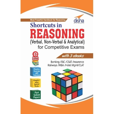 Shortcuts In Reasoning (verbal;Non-verbal & Analytical) For Competitive Exams With...