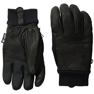 686 Raw Leather Glove Black Medium