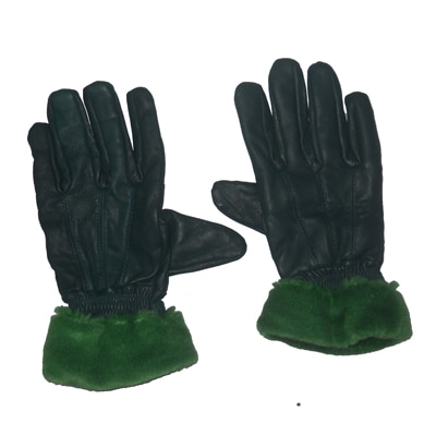 Aadishwar Creations Green Gloves