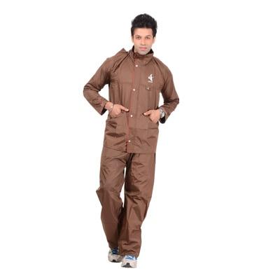 Allwin Brown Raincoat