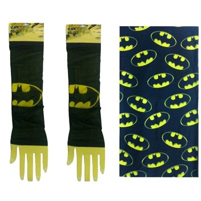 Atyourdoor Multipurpose Bandana(1 pc)and Wearable Tattoo Arm sleeves Skin Cover (1 Pair)