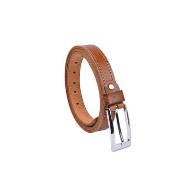 B&w Men's Sleek Belt - 25mm Width -tan
