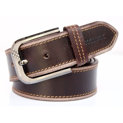 BACCHUS Brown Color Casual Belt For Men's