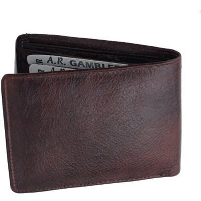 Bajya Brown Leather Wallet