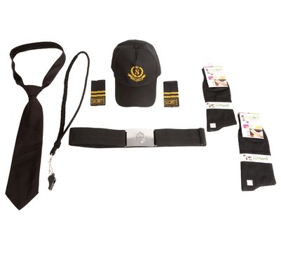 Fabuniforms Security Guard Accessories Set (Black)