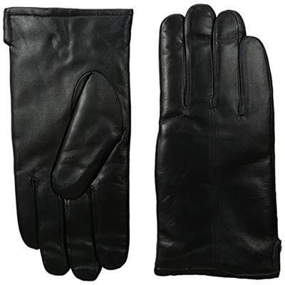 GII Men's Fine Leather Gloves with Microplie Lining Black Large
