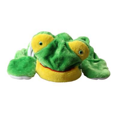 Kids Frog Hats with Ears Plush Warm Cap Long Hat Earmuff Scarf Gloves Adult # International Bazaar