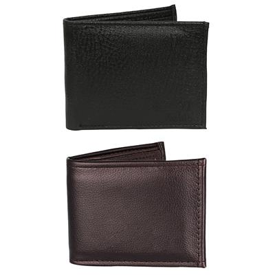 Mango people combo of brown and black wallet