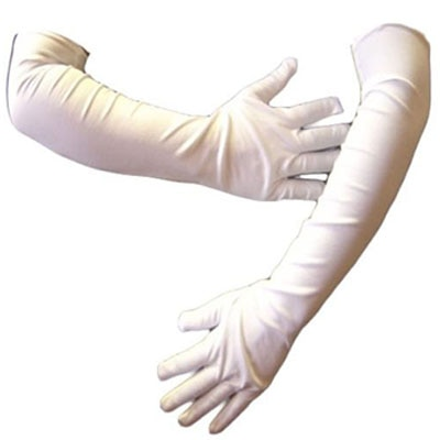 Oshop Trades Full Hand White Gloves