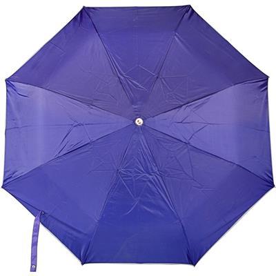 PeepalComm 3 Fold Blue Umbrella