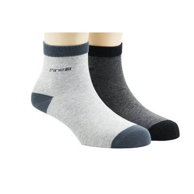 Pinellii Multi Color Cotton Socks (Pack Of 2)