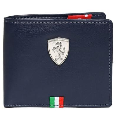 Puma Blue Ferrari Wallet For Mens
