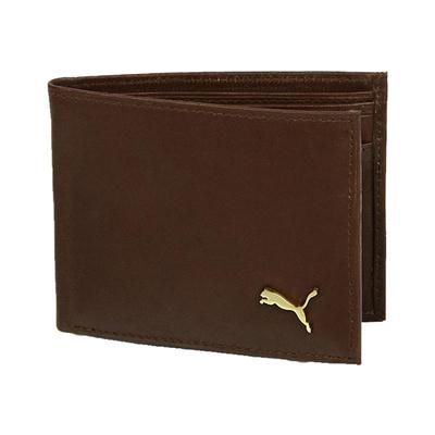 Puma Brown Leather Wallet