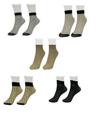 RS Women's Printed Ankle Length Socks SET OF5RS 5SOCKS140