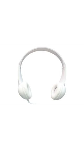 Ambrane Headphone with Microphone HP-20 (White)