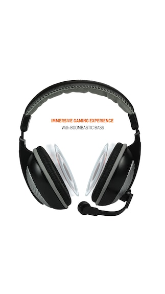 Amkette-TruChat-Boomer-Wired-Gaming-Headset-(Grey)