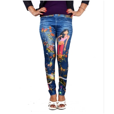 3D Baby Doll Printed Legging For Out Work Pants leggings...