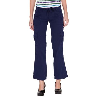 Alibi Blue Twill Trouser
