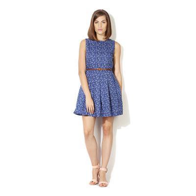Allen Solly Blue Dress