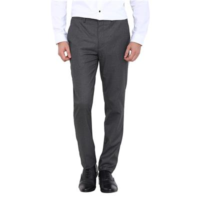 Arrow New York Grey Men Regular Fit Formal Trouser