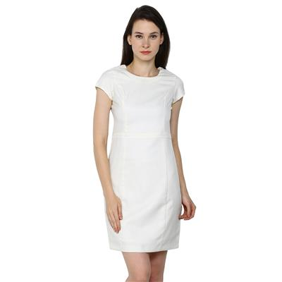 Arrow White Women Regular Dresses