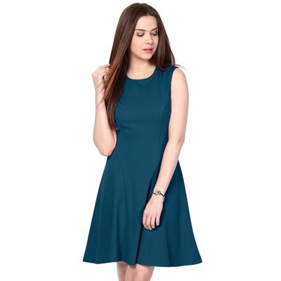 BESIVA Blue Cotton Dress