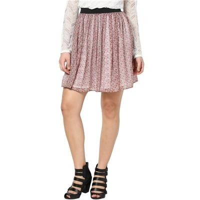 Besiva Floral Printed Skirt