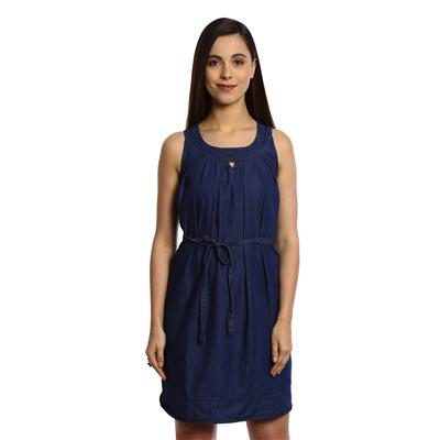 Bombay High Blue Denim Dresses