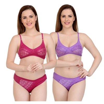 BRA AND PANTY SET BY X-CROSS