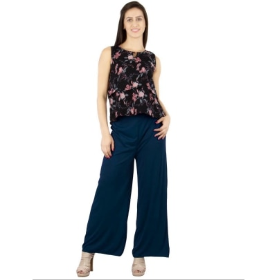 C&S Shopping Gallery Navy Blue color Palazzo