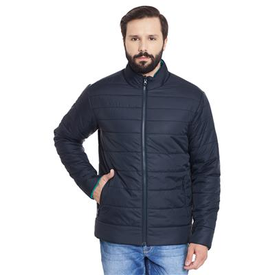 Canary London Solid Slim Fit Reversible Jacket
