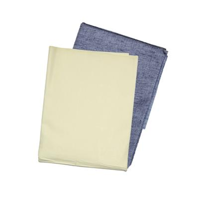 Cladien (Since 1958) Cotton Linen Shirt Fabric Combo Pack of 2