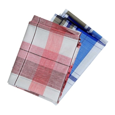 Cladien (Since 1958) Cotton Shirt Fabric Combo Pack of 2