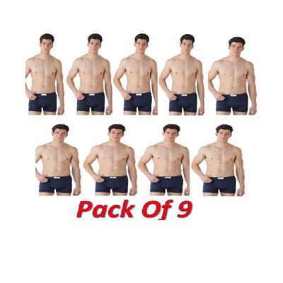 Dixcy Josh Multi Color Fine Trunk Pack of 9