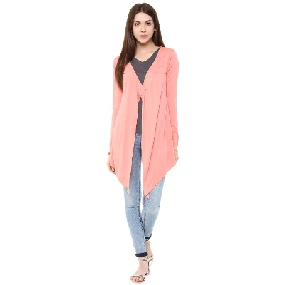 Fashion Flavor Women's Pink Shrug