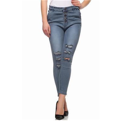 Fasnoya High Waist Skinny Fit Jeans for Women