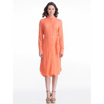Femella Peach Rayon Dress
