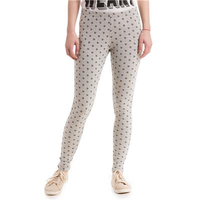 Flying Machine White Mid Rise Regular Fit Jeggings