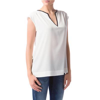 GAS Women White Slim Casual shirts