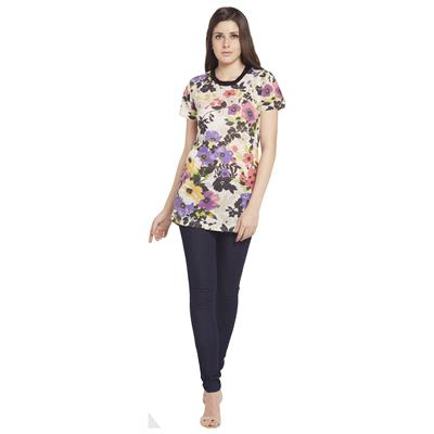 Globus Womens Multi Colored Casual Wear Top